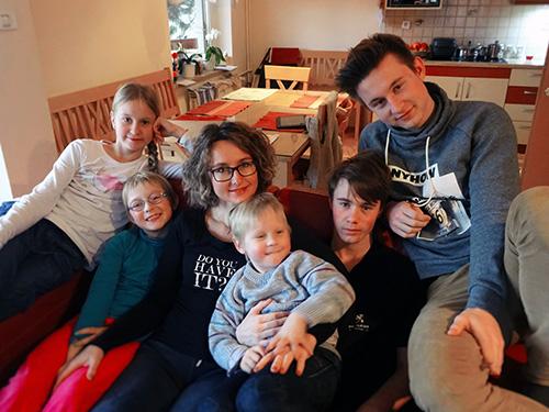 simone kindermann z družino