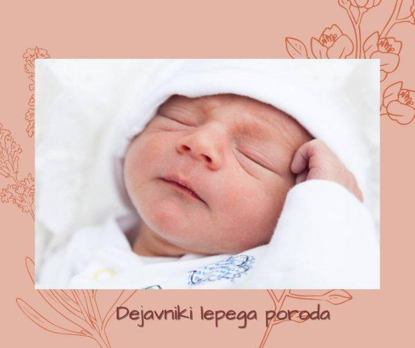 Dejavniki lepega poroda